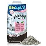 Biokat's Diamond Care Fresh mit Duft - Feine Katzenstreu mit Aktivkohle und Aloe Vera...