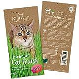PRETTY KITTY Premium Katzengras Saatmischung: 1 Beutel mit 25g Katzengras Samen für...