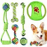 ACE2ACE Kleines Hundespielzeug Set, Welpen Kauspielzeug, Hundeseil, Spielzeug für...
